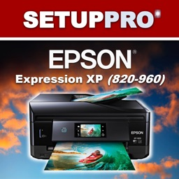Setup Pro for Epson Expression 820, 830, 850, 860, 950 & 960 Series