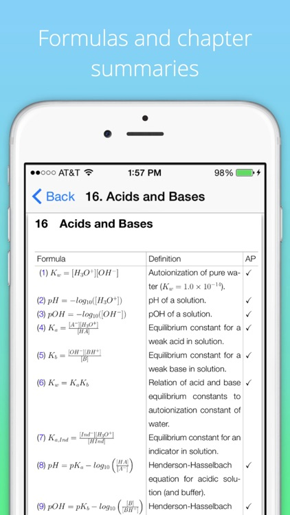 Chemistry X: College and AP Chem screenshot-3