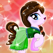 High My Monster Pony princess Dress-Up - Creator make-up cinderella story frozen fashion anna games for girls