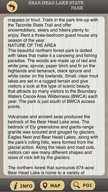 Minnesota State Parks & National Parks Guide screenshot-3