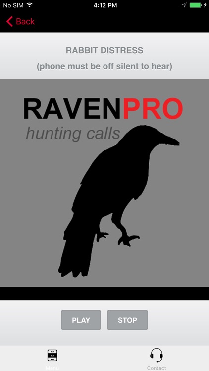 REAL Raven Hunting Calls - 7 REAL Raven CALLS & Raven Sounds! - Raven e-Caller - Ad Free - BLUETOOTH COMPATIBLE screenshot-0