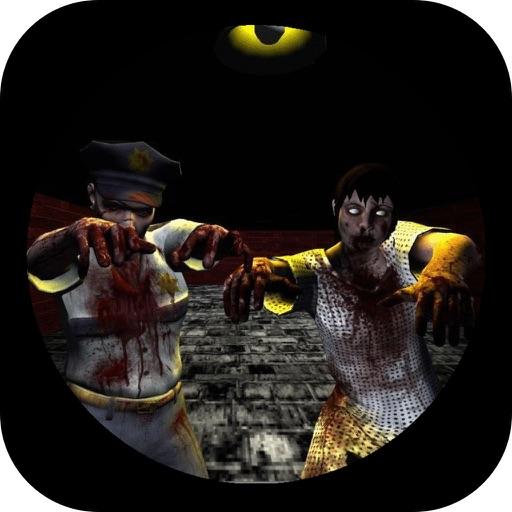Escape the Dark Corridors Machine Gun Kill (an fps zombie sniper headshot game)