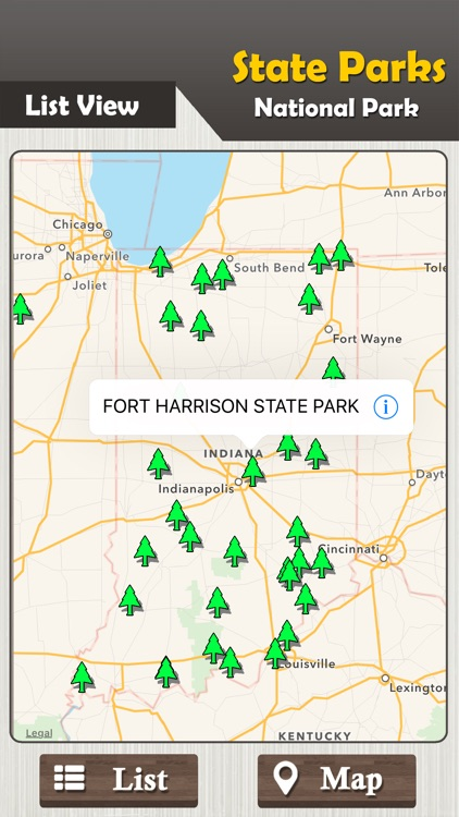 Indiana State Parks And National Parks Guide screenshot-1