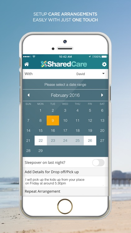 SharedCare - Joint Custody Organizer & Co-Parenting App screenshot-1