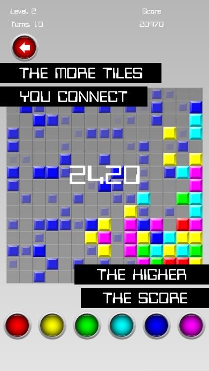 Color Flood Matrix screenshot-4