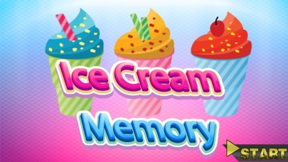 Ice Cream Funny Memory Match Game Kids Boys Girls Maker
