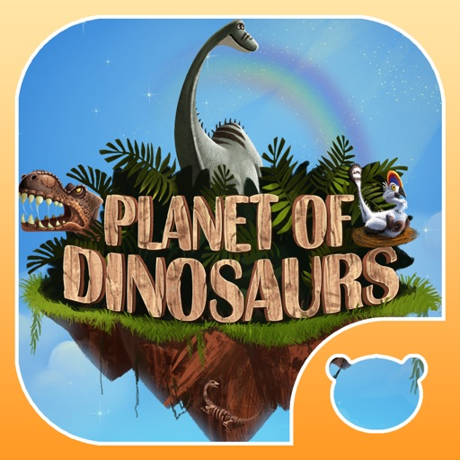 Planet of Dinosaurs. Interactive journey in the Jurrassic era.