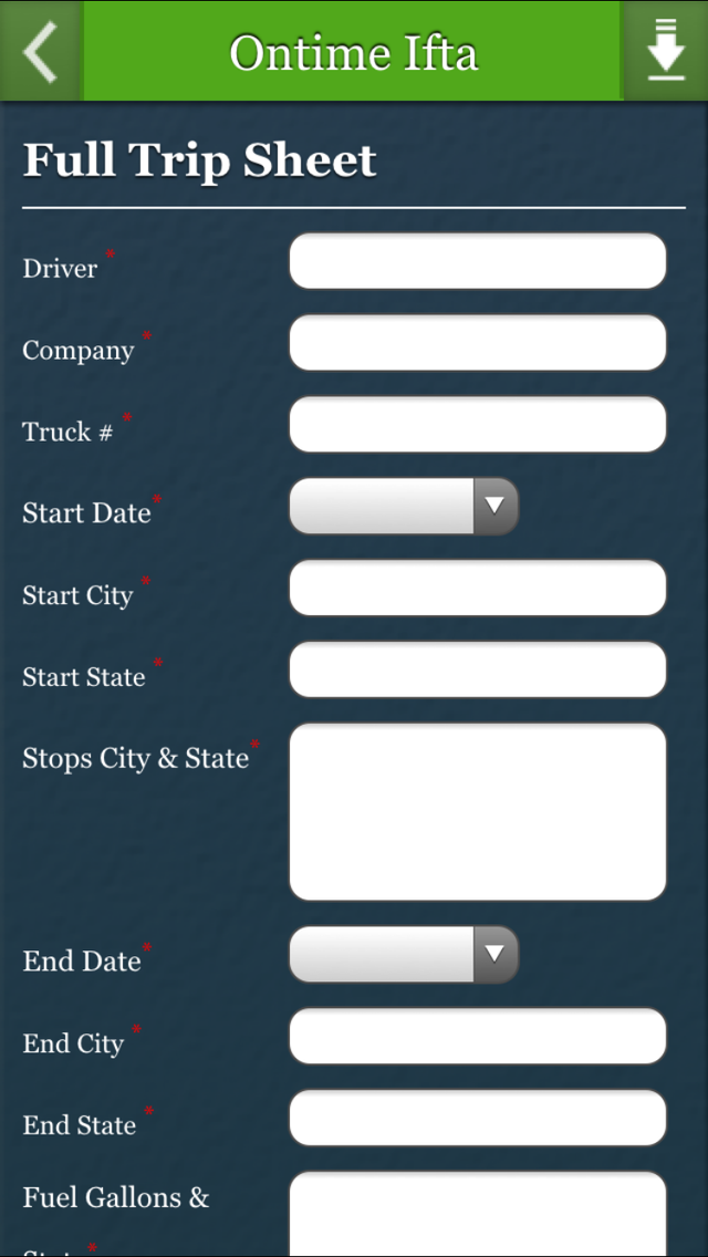Ontime Ifta Screenshot on iOS