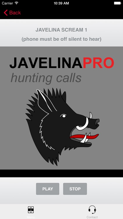 REAL Javelina Calls & Javelina Sounds to use as Hunting Calls (ad free) - BLUETOOTH COMPATIBLE screenshot-0
