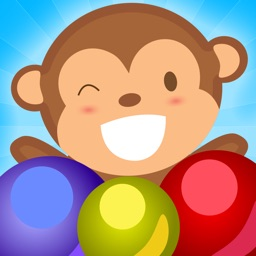 Monkey Balls - Pop Bubble Shooter Game (Best Cool & Funny Match 3 Puzzle Free Games For Girls & Kids - Touch Top Fun)