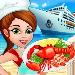 Cruise Ship Food Court 2 : Master-Chef Spicy Sea-food Restaurant n cafeteria pro