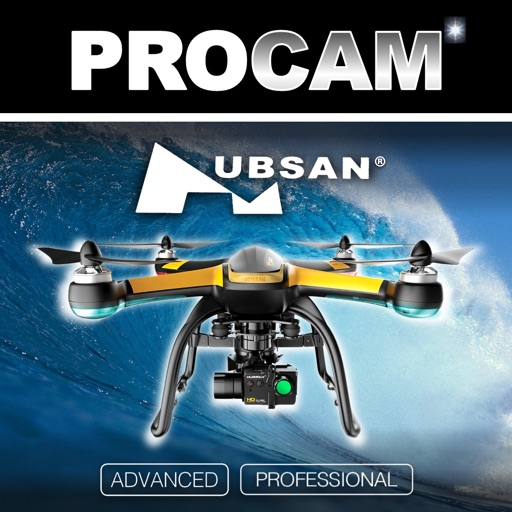 PROCAM for Hubsan Quadcopters X4 Pro, X4, Brushless & Skyhawk Series
