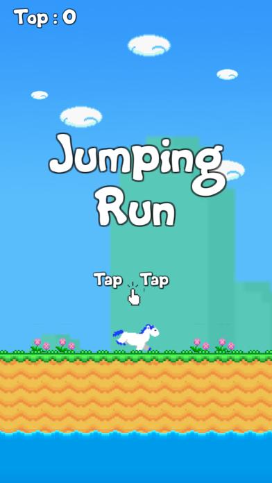 Jumping Run screenshot one