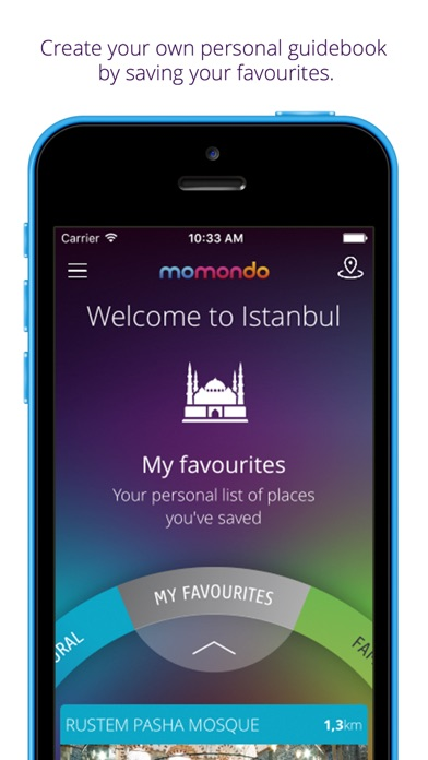 Istanbul travel guide & map - momondo places