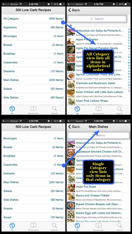 500 Low Carb Recipes screenshot-3