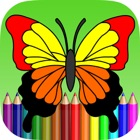 Butterfly Coloring Book For Kids icon