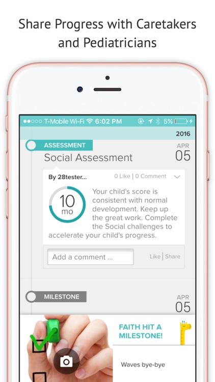 Lyfeline Milestones: Baby Development Tracker, Activities, and Delay Detection screenshot-3