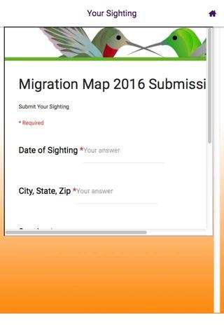 Hummingbird Tracker screenshot 3