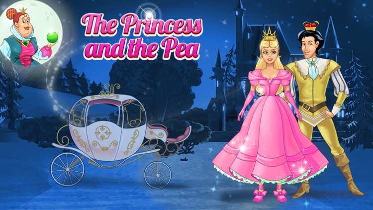 The Princess and the Pea – An Interactive Children's Story Book HD