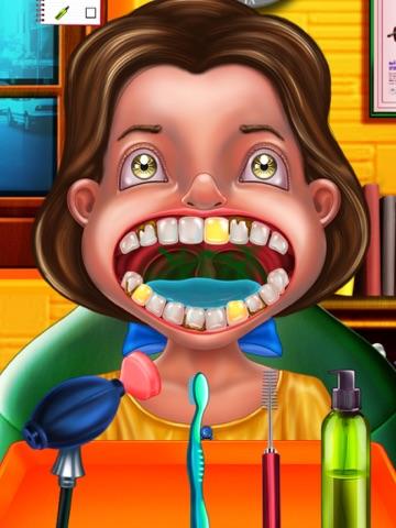Сумасшедший Стоматолог забавная игра для детей  Лечить пациентов в клинике сумасшедшего стоматолога ! на iPad