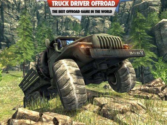 Truck Driver 3D : Offroad на iPad