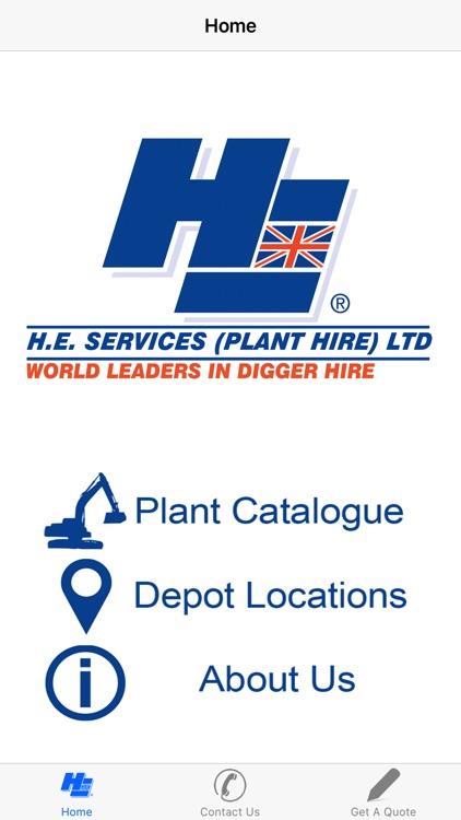 H.E. SERVICES PLANT HIRE