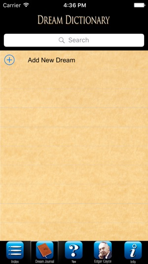 Edgar Cayce's Dream Dictionary on the App Store