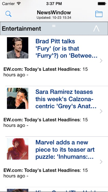 NewsWindow: Your News Reader on the Go screenshot-0
