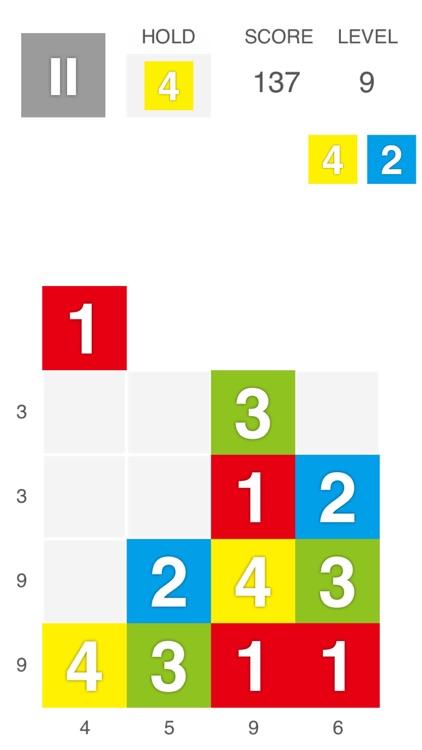XTRIS - テントリス  [ 新感覚な計算パズルゲーム ] screenshot-0