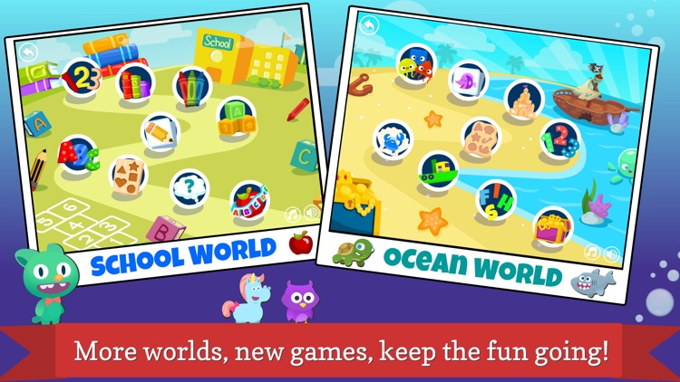 Pocket Worlds - Fun Education Games for Kids screenshot-4