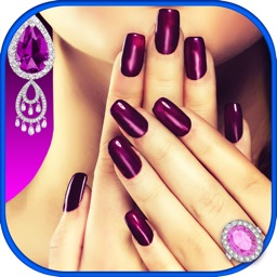 Princess Nails Studio – Royal Design and Luxury Nail Spa Game for Girl.s