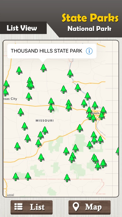 Missouri State Parks & National Park Guide screenshot-1