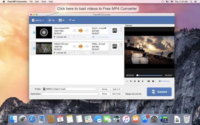 mov to mp4 converter download free