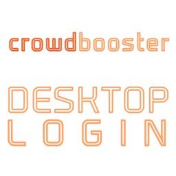 DESKTOP LOGIN for crowdbooster