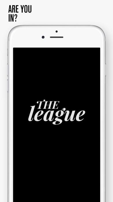The League app image