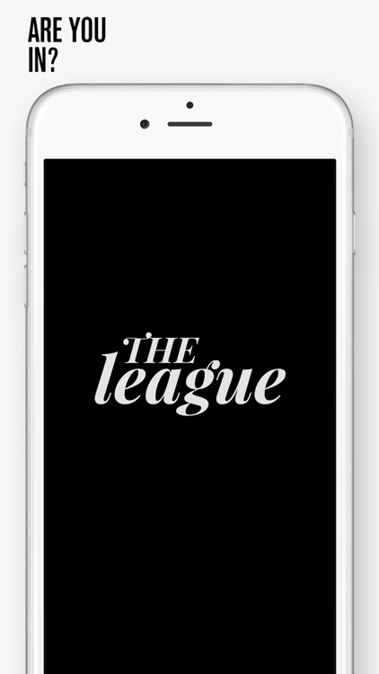 The League - Meet. Intelligently.