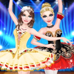 Ballet Sisters - Ballerina Fashion: Dancing Beauty Spa, Makeover, Dressup Game for Girls