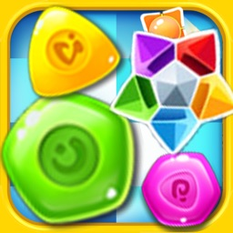 Jewel Mania Sugar Blast-Fun Soda Candy Blitz,Match 3 crush puzzle game