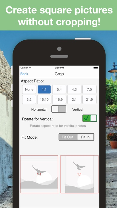 Batch Photo Resize - crop and shrink multiple pictures at once app image