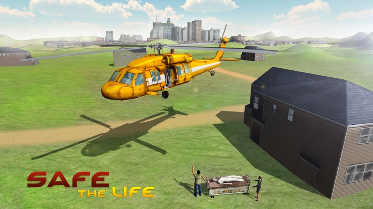 City Helicopter Simulator – 3D Apache Flying Simulation Game