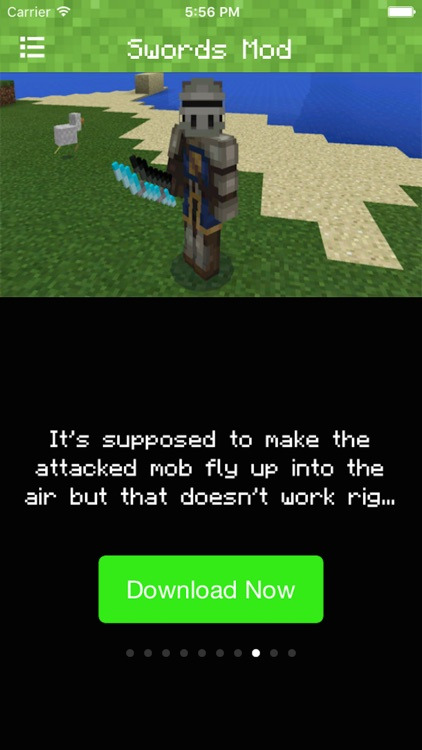 SWORDS MOD FOR MINECRAFT PC EDITION - POCKET GUIDE