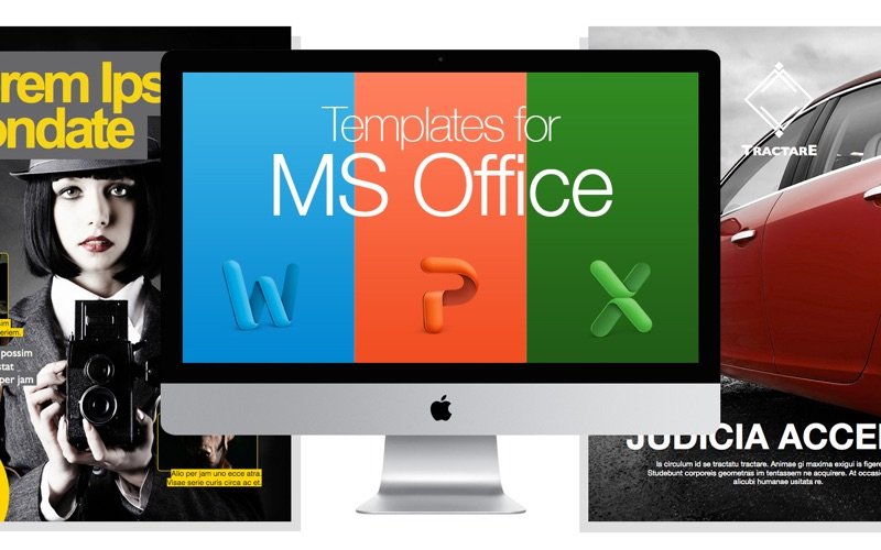Suite for Microsoft Office - Templates and Documents for MS Word, PowerPoint, Excel