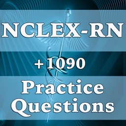 NCLEX-RN Practice Questions-1090 Flashcards, Exam Prep & Nursing Study Tips