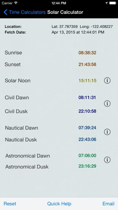 Time Calculator review screenshots