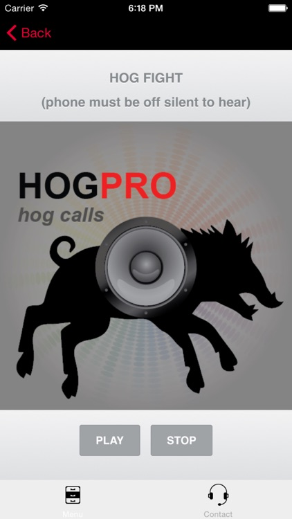REAL Wild Hog Calls + Wild Boar Calls for Hunting BLUETOOTH COMPATIBLE screenshot-0