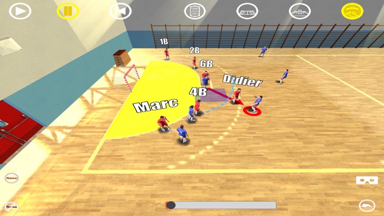 Handball 3D Tactics Library 1