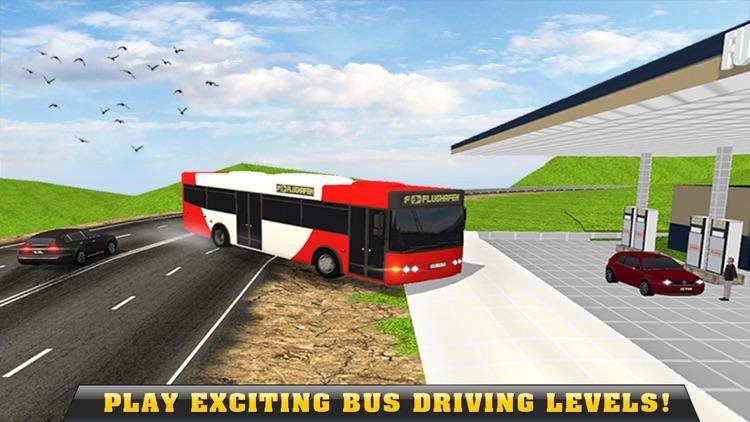 Real Off-Road Hill Tourist Bus Driver Simulator 3D screenshot-3