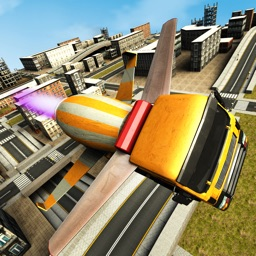 Flying Construction Truck Flying Simulator