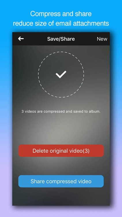 Video Compressor Gold - Shrink videos, compress photos to free the space screenshot-4