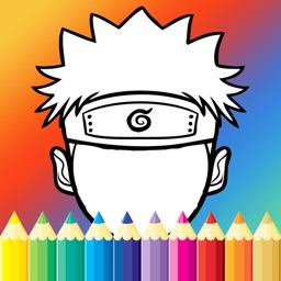 Coloring Paint For Kids Game Naruto Edition